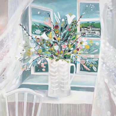 In the Breeze by Natalie Rymer ( oil on canvas) - The Alresford Gift Shop