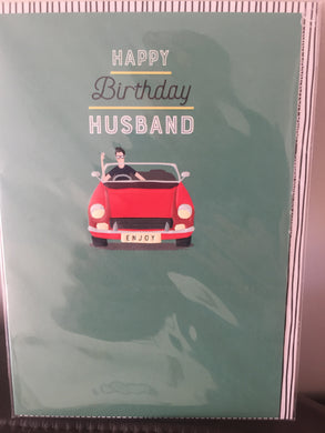 Happy Birthday Husband - The Alresford Gift Shop