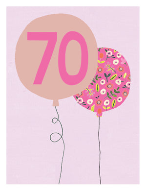 70 - two balloons - The Alresford Gift Shop