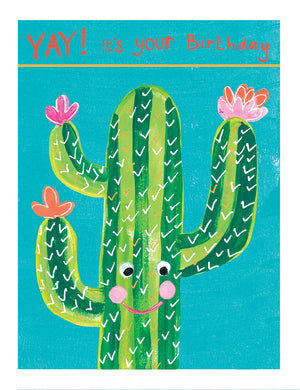 Cactus birthday - The Alresford Gift Shop