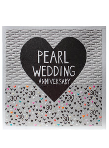 Pearl Wedding Anniversary - The Alresford Gift Shop