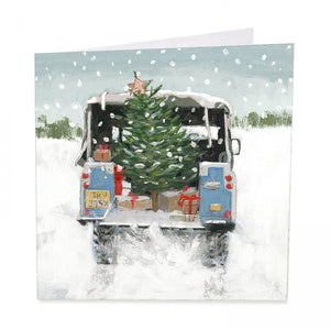 Jolly journey - Charity Christmas pack of 6 Artbeat  Christmas cards- Shelter
