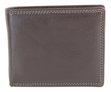 Brown Leather Wallet - The Alresford Gift Shop