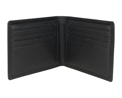 Black Classic Leather Wallet - The Alresford Gift Shop