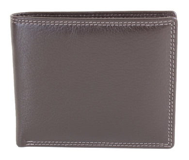 Brown Classic Leather Wallet - The Alresford Gift Shop