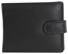 Load image into Gallery viewer, Black Leather Wallet - The Alresford Gift Shop