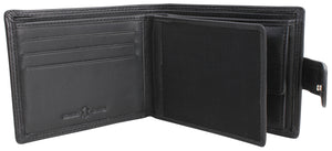 Black Leather Wallet - The Alresford Gift Shop