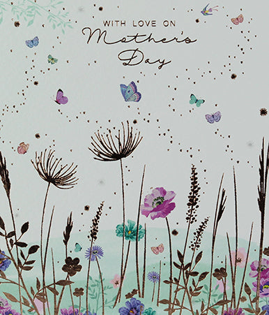 With love on Mother's Day - Butterfly Meadow