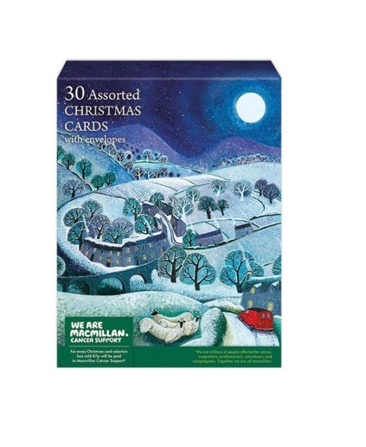 30 Assorted Museums and Galleries  Christmas Cards - Macmillan Cancer Support
