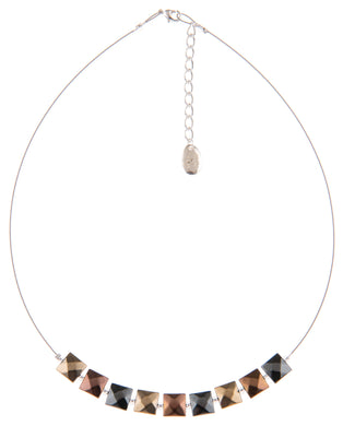 Metallic Boudica necklace - The Alresford Gift Shop