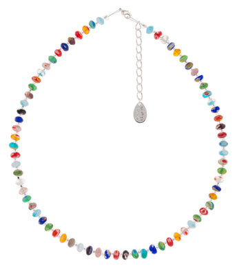 Spring Millefiori (a thousand flowers) Necklace - The Alresford Gift Shop