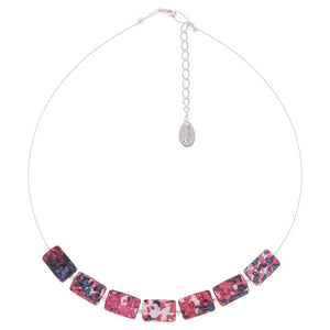 Rainflower Necklace in pink