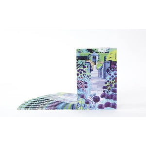 Blank notelet pack - Allium Walk by Jenny Hancock - The Alresford Gift Shop