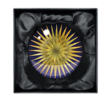 Starburst crystal paperweight - The Alresford Gift Shop