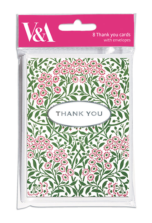 Thank You Notelet Pack - The Alresford Gift Shop