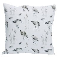Sandpiper cushion by Gisela Graham