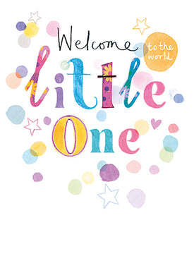 Welcome little one - The Alresford Gift Shop
