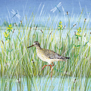 Wading Bird  by Lucy Grosmith