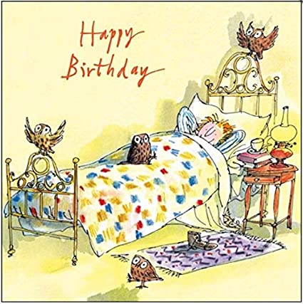 Happy Birthday -Quentin Blake
