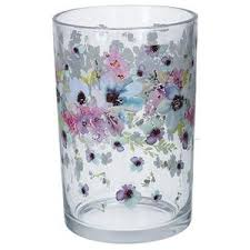 Flowers glass container / vase - The Alresford Gift Shop