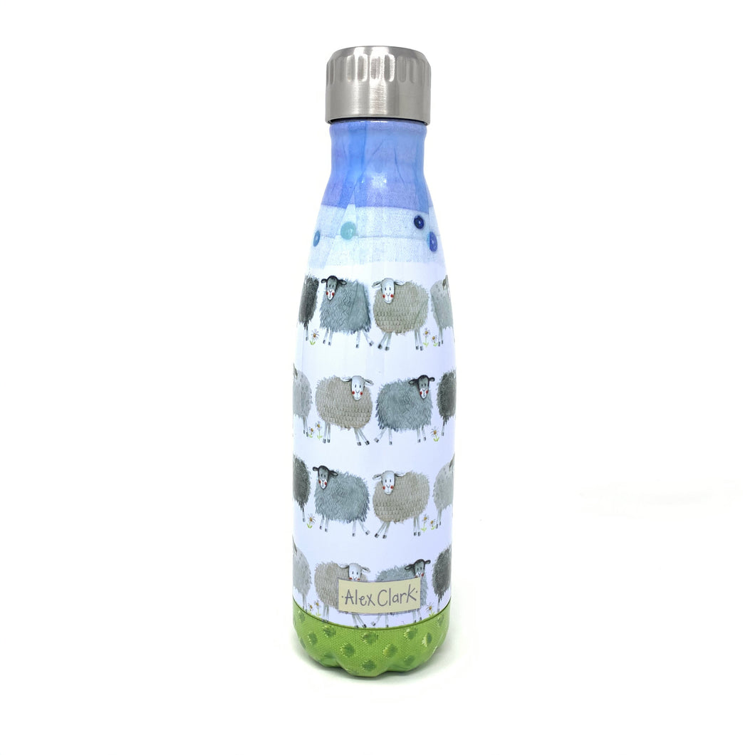 Alex Clark water bottle - sheep design