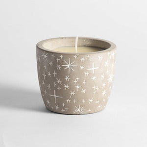 St Eval Winter Star Pot - Inspiritus