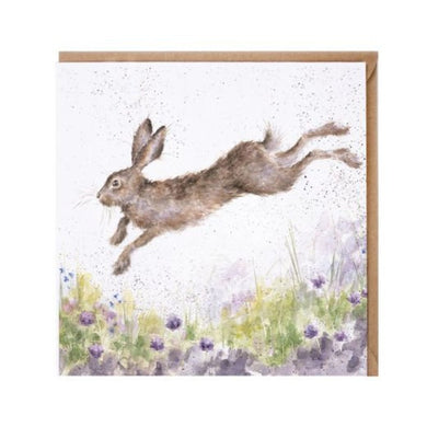 Wrendale In Flight ( hare) - The Alresford Gift Shop