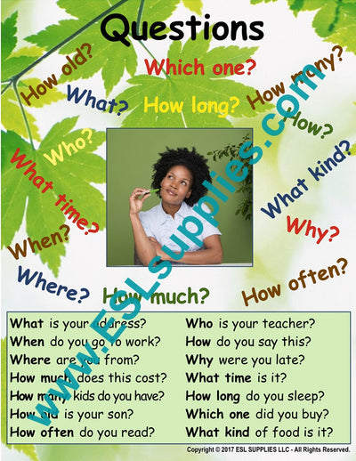 Teaching Question Making Skills to Newcomers (ELLs)