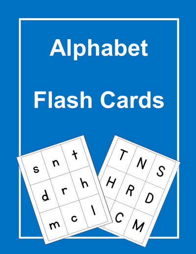 Alphabet ESL Flash Cards