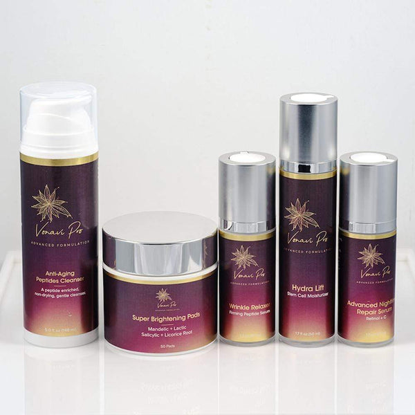 Anti Aging & Skin Brightening Essential Kit - Vonavi Pro