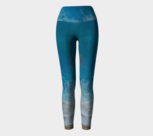 Load image into Gallery viewer, Yoga Leggings-Beach Wave