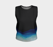 Load image into Gallery viewer, Loose Tank Top - Dark Wave