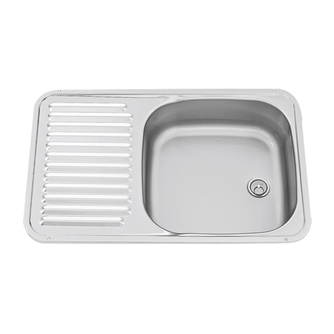 Dometic sink with  intergrated drainer