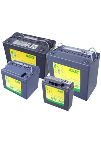 Solar Gel Batteries