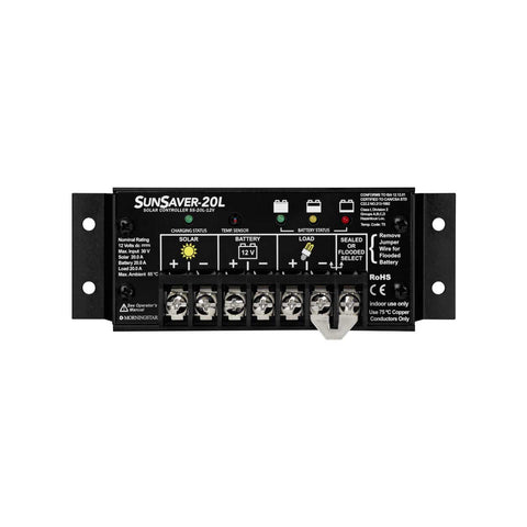 Morningstar Sunsaver 4-stage PWM Charge controllers