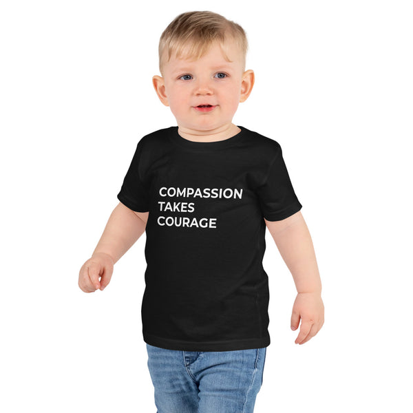 Compassion Takes Courage | Kids T-Shirt | Multiple Colors