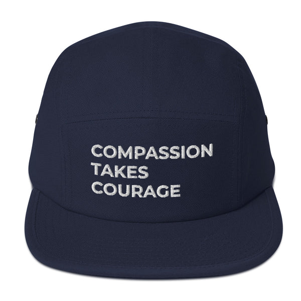 Compassion Takes Courage | 5 Panel Camper | Multiple Colors