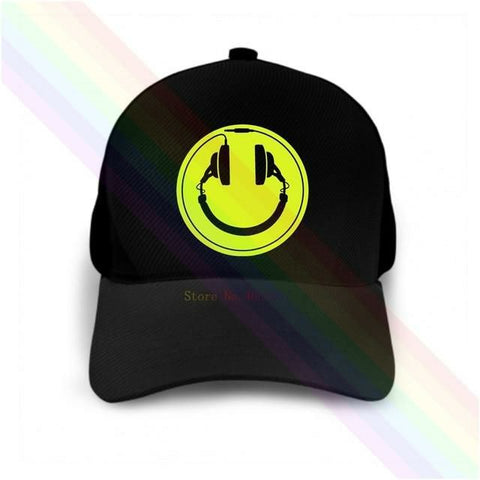 Casquette Festival - Headphone Smiley