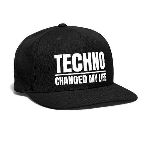 Casquette Techno - Changed my Life ! - Rave Techno Music