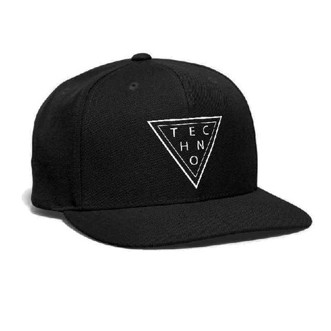 Casquette Techno Music - Triangle Rave DJ