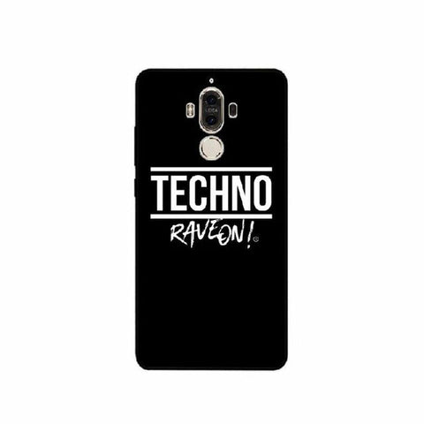 "Coque Huawei Fond Noir - /TECHNO/ ""Rave On !"""