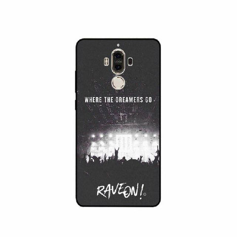 Coque Huawei Fond Noir - Concert Rave On !