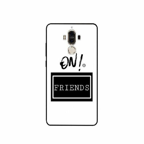 Coque Huawei Fond Blanc - Rave On Best Friend