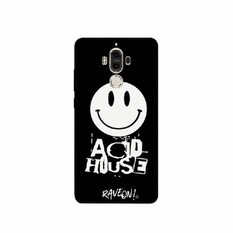 "Coque Huawei Fond Noir - ACID HOUSE ""Rave On!"""