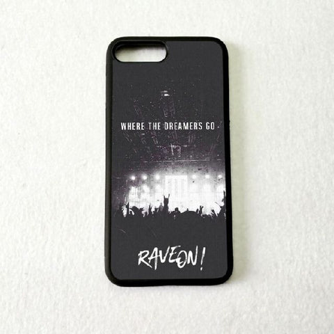 Coque Apple iPhone Fond Noir - Concert Techno