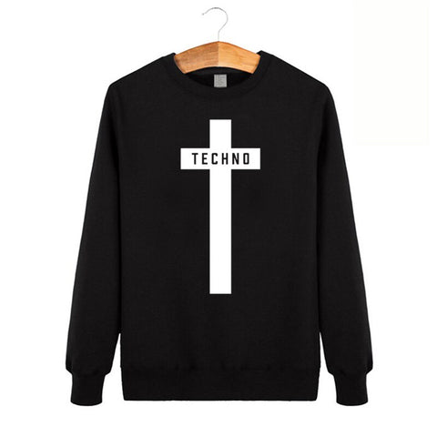 Sweat-shirt Homme CROIX TECHNO #cross