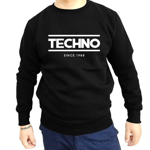 Sweat-shirt Homme Techno SINCE 1988