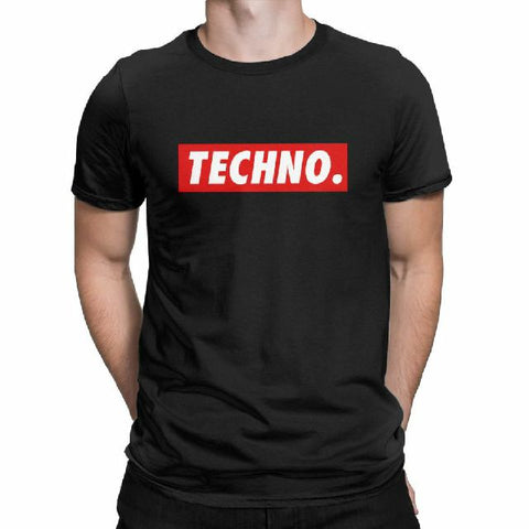 T-Shirt Techno. [RED]