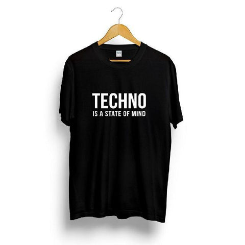 T-Shirt Techno Is A State Of Mind - TSHIRT CARL COX