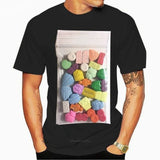T-Shirt 90's Rave Music Ecstasy Pills